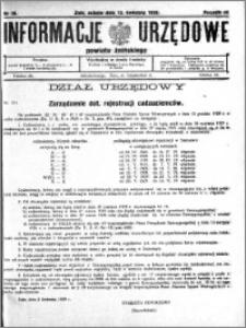 Informacje Urzędowe powiatu Żnińskiego 1929.04.13 R.42 nr 26