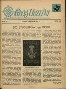 Głos Uczelni / UMK R. 5 nr 8 (29) (1955)