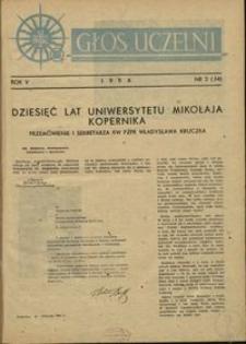 Głos Uczelni / UMK R. 5 nr 2 (34) (1956)