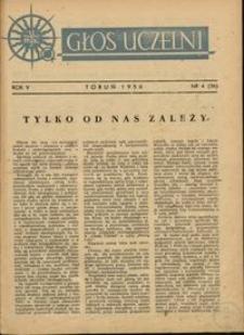 Głos Uczelni / UMK R. 5 nr 4 (36) (1956)