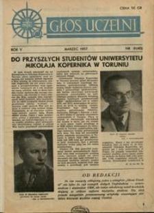 Głos Uczelni / UMK R. 5 nr 8 (40) (1957)