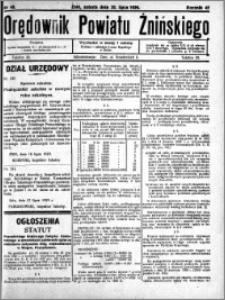 Orędownik Powiatu Żnińskiego 1929.07.20 R.42 nr 48