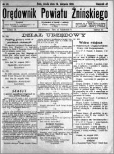 Orędownik Powiatu Żnińskiego 1929.08.28 R.42 nr 59