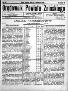 Orędownik Powiatu Żnińskiego 1929.09.21 R.42 nr 65