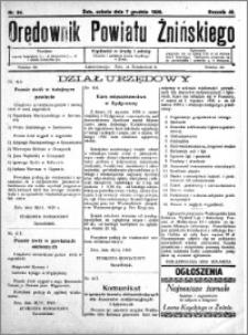 Orędownik Powiatu Żnińskiego 1929.12.07 R.42 nr 84
