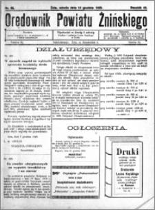 Orędownik Powiatu Żnińskiego 1929.12.14 R.42 nr 86