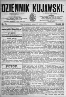 Dziennik Kujawski 1895.03.29 R.3 nr 72