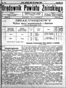 Orędownik Powiatu Żnińskiego 1930.02.22 R.43 nr 12