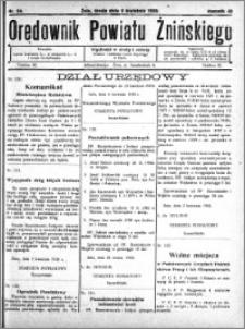 Orędownik Powiatu Żnińskiego 1930.04.09 R.43 nr 24