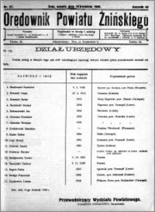 Orędownik Powiatu Żnińskiego 1930.04.19 R.43 nr 27