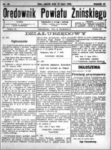 Orędownik Powiatu Żnińskiego 1930.07.19 R.43 nr 48