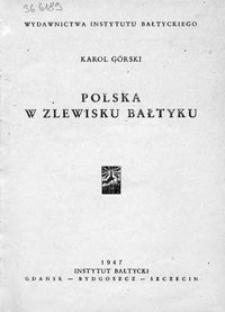 Polska w zlewisku Bałtyku