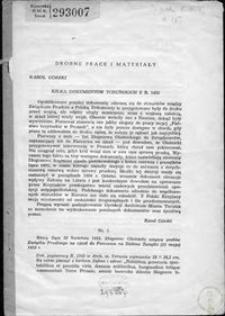 Kilka dokumentów toruńskich z r. 1453