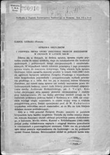 Sprawa Skolimów : i pierwsza próba oporu zbrojnego przeciw Krzyżakom w Prusach w latach 1443-46