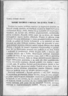 Dzieje Tucholi i okolic do końca XVIII w.