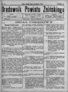 Orędownik Powiatu Żnińskiego 1931.02.25 R.44 nr 14