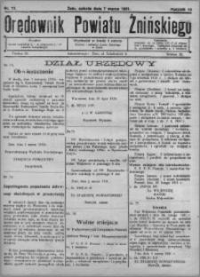 Orędownik Powiatu Żnińskiego 1931.03.07 R.44 nr 17