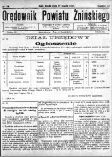 Orędownik Powiatu Żnińskiego 1931.03.11 R.44 nr 18
