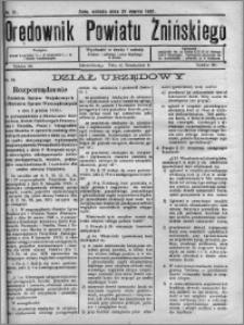 Orędownik Powiatu Żnińskiego 1931.03.21 R.44 nr 21