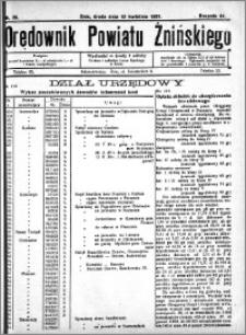 Orędownik Powiatu Żnińskiego 1931.04.15 R.44 nr 26