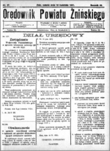 Orędownik Powiatu Żnińskiego 1931.04.18 R.44 nr 27