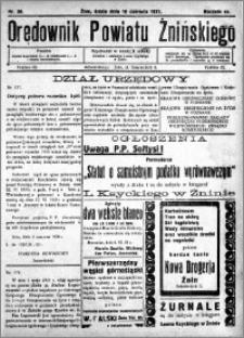 Orędownik Powiatu Żnińskiego 1931.06.10 R.44 nr 38