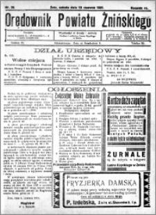 Orędownik Powiatu Żnińskiego 1931.06.13 R.44 nr 39