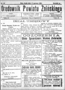 Orędownik Powiatu Żnińskiego 1931.06.17 R.44 nr 40