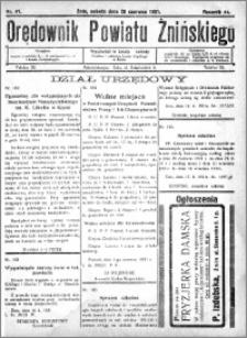 Orędownik Powiatu Żnińskiego 1931.06.20 R.44 nr 41
