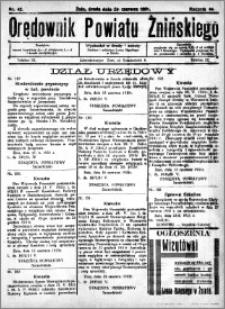 Orędownik Powiatu Żnińskiego 1931.06.24 R.44 nr 42