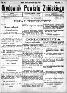 Orędownik Powiatu Żnińskiego 1931.07.29 R.44 nr 48