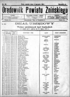 Orędownik Powiatu Żnińskiego 1931.08.08 R.44 nr 50