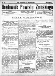Orędownik Powiatu Żnińskiego 1931.08.12 R.44 nr 51