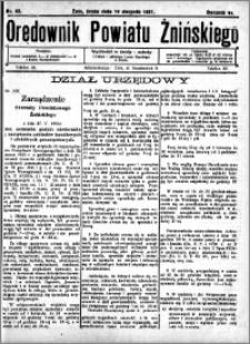 Orędownik Powiatu Żnińskiego 1931.08.19 R.44 nr 53