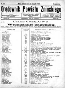 Orędownik Powiatu Żnińskiego 1931.08.22 R.44 nr 54
