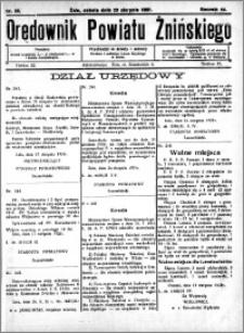 Orędownik Powiatu Żnińskiego 1931.08.29 R.44 nr 55