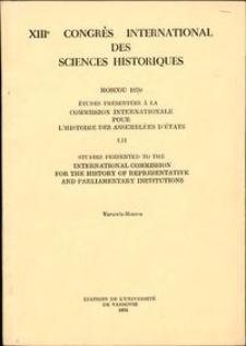 Institutions représentatives et émancipation de la noblesse : pour une typologie des assemblées d'états au XVe siècle