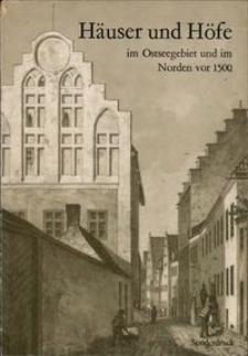 Soziale Aspekte der Wohnungsgeschichtlichen Forschung im Ostseeraum