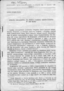 Utrata Działdowa na rzecz Zakonu Krzyżackiego w 1465 roku
