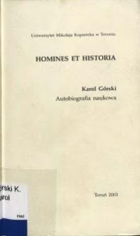 Autobiografia naukowa