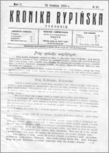 Kronika Rypińska 1925, R. 2 nr 51