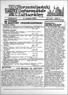 Chrześcijański Informator Kulturalny 1988.11.06 R.3 nr 11 (22)