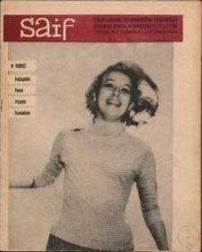 SAIF Serwis Informacyjny Studentów Torunia 1965 październik - listopad