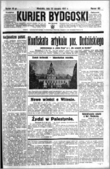 Kurjer Bydgoski 1937.08.22 R.16 nr 192