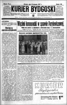 Kurjer Bydgoski 1937.08.31 R.16 nr 199