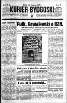 Kurjer Bydgoski 1937.08.21 R.16 nr 191