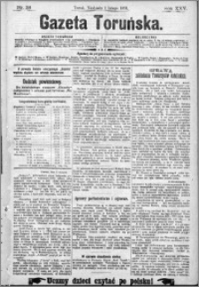 Gazeta Toruńska 1891, R. 25 nr 26