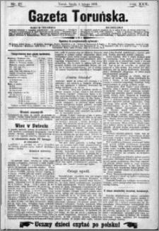 Gazeta Toruńska 1891, R. 25 nr 27