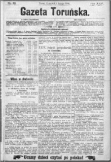 Gazeta Toruńska 1891, R. 25 nr 28