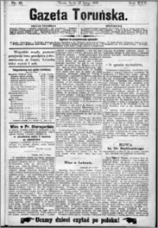 Gazeta Toruńska 1891, R. 25 nr 45